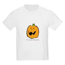Mr. Jack O'lantern Kids T-Shirt