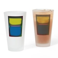 Saw Red Drinking Glass