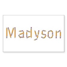 Madyson Pencils Rectangle Decal