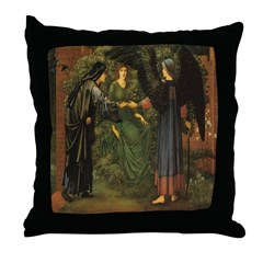 The Heart of the Rose Throw Pillow