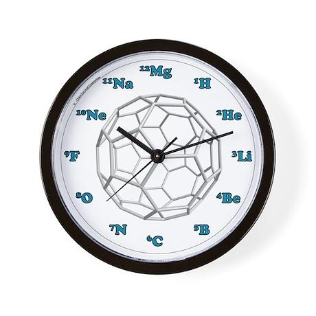 Bucky Ball Wall Clock