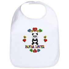 Panda Lover Bib