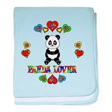 Panda Lover baby blanket