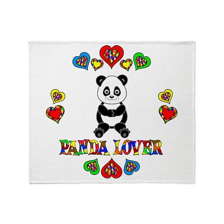 Panda Lover Throw Blanket