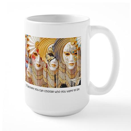 Venetian Masks Large Mug