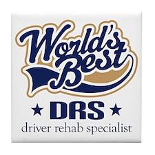 Driver Rehabilitation Specialist Tile Coaster