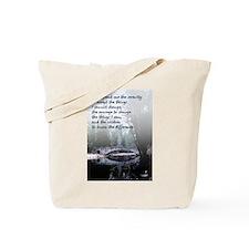 Serenity Prayer - Tote Bag