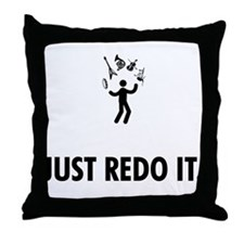 Versatile Musician Throw Pillow