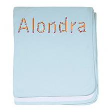Alondra Pencils baby blanket