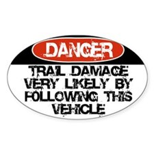 Trail Damage Likely Decal