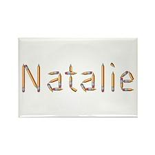 Natalie Pencils Rectangle Magnet
