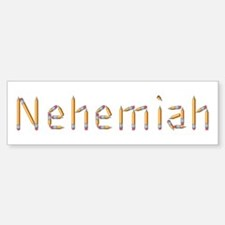 Nehemiah Pencils Bumper Bumper Bumper Sticker