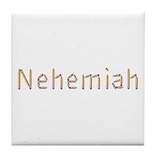 Nehemiah Pencils Tile Coaster