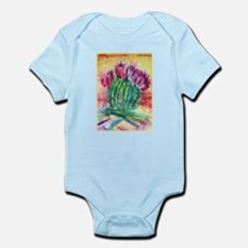 Cactus, Southwest art! Infant Bodysuit