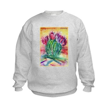 Cactus, Southwest art! Kids Sweatshirt