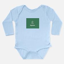 Humor Bipolar Long Sleeve Infant Bodysuit