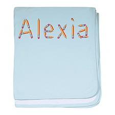 Alexia Pencils baby blanket