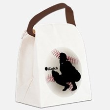 iCatch Baseball Canvas Lunch Bag