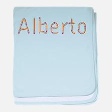 Alberto Pencils baby blanket