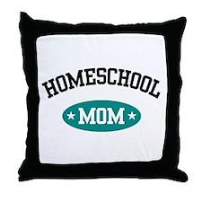 Homeschool Mom Throw Pillow