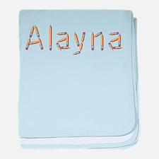 Alayna Pencils baby blanket
