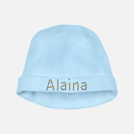 Alaina Pencils baby hat