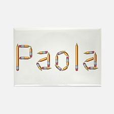 Paola Pencils Rectangle Magnet