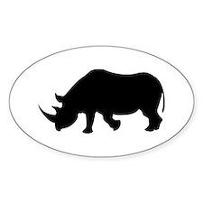 Rhino Oval Decal