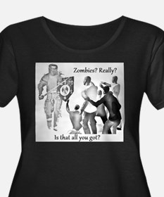 zombies knight medieval T