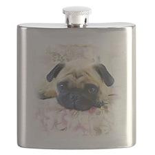 Pug Dog Flask