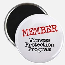 Member Witness Protection Pro Magnet