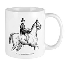 The Horse Properly Collected in Hand Mug