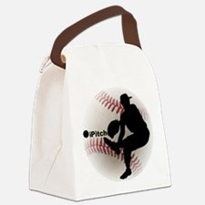 iPitch Baseball Canvas Lunch Bag