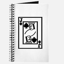Cute Jack of spades Journal