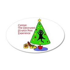 Catmas Experience Wall Decal