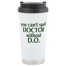 Cute Doctor of osteopathy Travel Mug