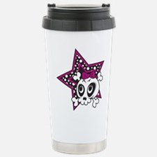 Unique Girly skull Travel Mug