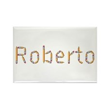 Roberto Pencils Rectangle Magnet