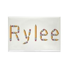 Rylee Pencils Rectangle Magnet