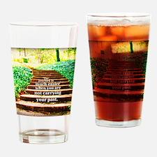 Easier Journey Drinking Glass