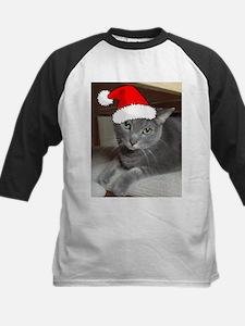 Christmas Russian Blue Cat Tee