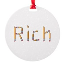 Rich Pencils Ornament
