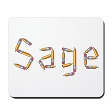 Sage Pencils Mousepad