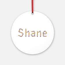 Shane Pencils Round Ornament