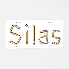 Silas Pencils Aluminum License Plate