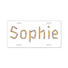 Sophie Pencils Aluminum License Plate
