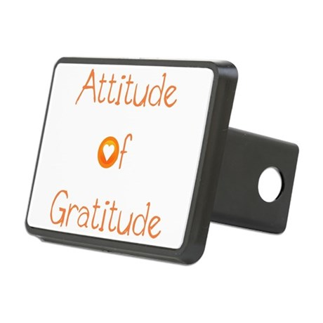 Attitude of Gratitude Rectangular Hitch Cover