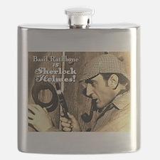 $19.99 Rathbone IS Sherlock! Flask