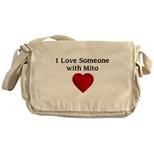 I Love Someone with Mito Messenger Bag