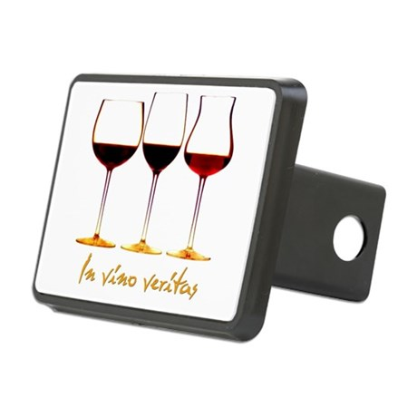 Wine Rectangular Hitch Cover